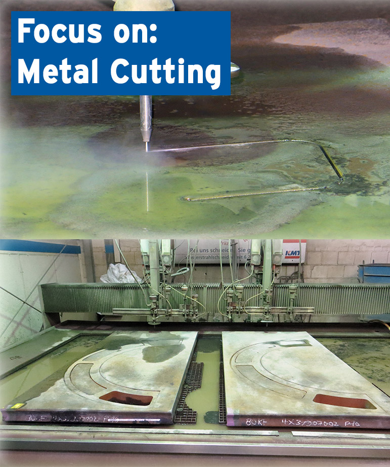 Waterjet Cutting of Metall