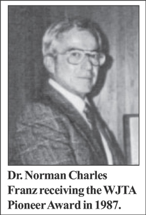 Dr. Norman Franz - Pioneer of Waterjet Cutting